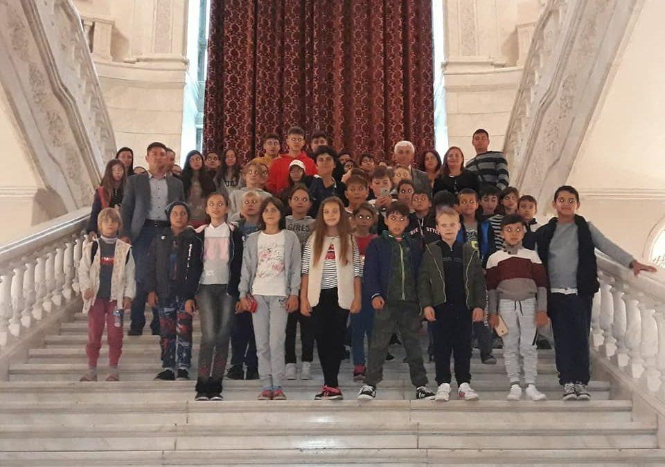 Vizită la Palatul Parlamentului