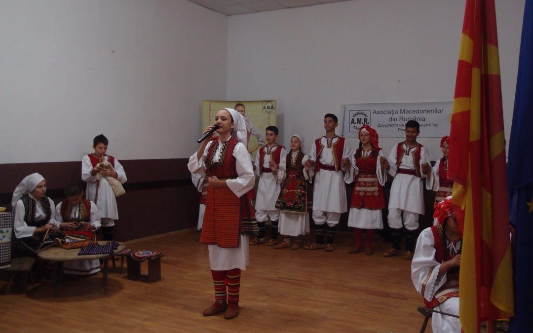 Asociația Macedonenilor din România la Amărăștii de Sus