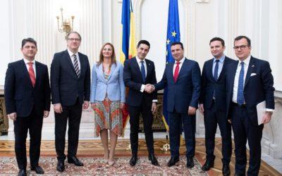 Discuții bilaterale, româno-macedonene, la Senatul României