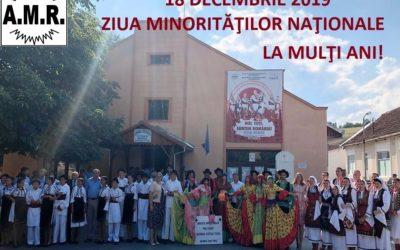 18 decembrie 2019 – Ziua minorităţilor naţionale din România