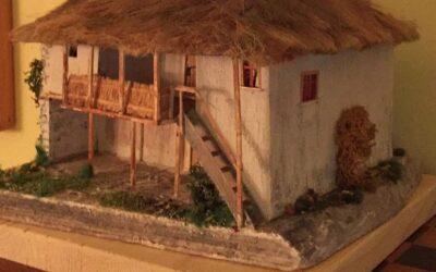 Artistul Nicolae Breza creaza o noua casa traditionala