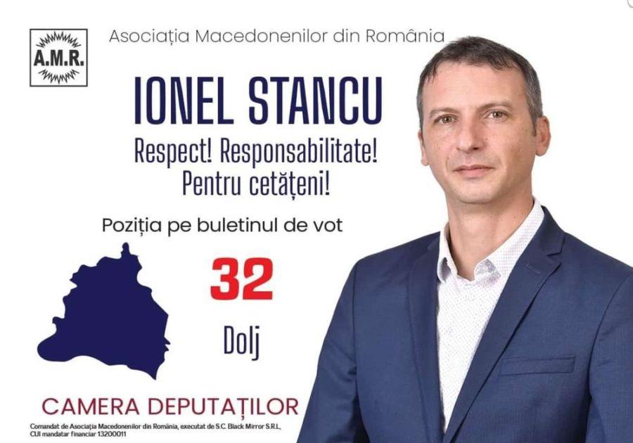Candidatul AMR este reprezentat electoral în toate judeţele României